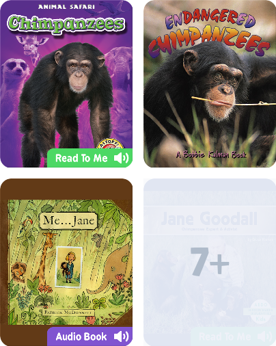 Who is jane goodall book