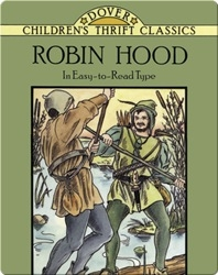 Robin Hood in Easy-to-Read Type