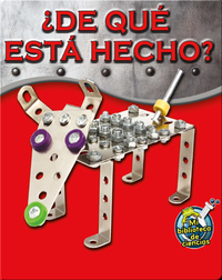 ¿De qué está hecho? (What Is It Made Of?)