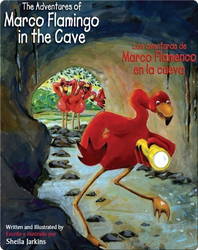 The Adventures of Marco Flamingo in the Cave / Las aventuras ed Marco Flamenco en la cueva