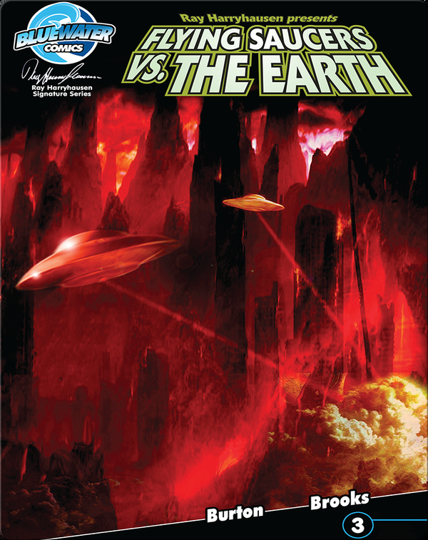Ray Harryhausen Presents: Flying Saucers Vs. the Earth #3