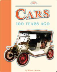 Cars 100 Years Ago