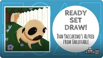 Dan Yaccarino Draws Alfred from 'UNLOVABLE'