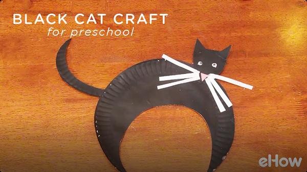 Preschool Crafts on Black Cats