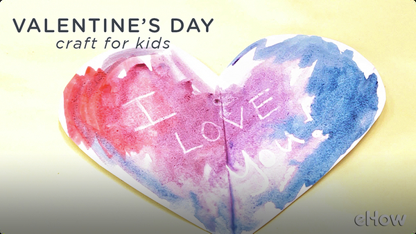School Valentine Art Project