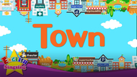 Kids vocabulary: Town - Organization of the Village