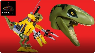 How To Build LEGO Dinosaur Cyborg