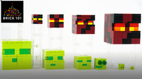 How To Build LEGO Minecraft Slime & Magma Cube