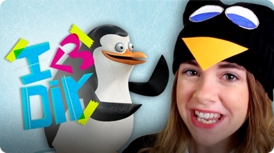 Jill Cimorelli's 'Penguins of Madagascar' DIY Costume | I ♥ DIY