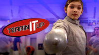 10-Year-Old National Fencing Champion Lola Possick | TEARIN' IT UP