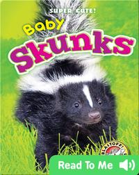 Super Cute! Baby Skunks