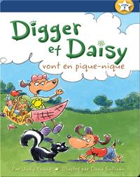 Digger et Daisy vont en pique-nique (Digger and Daisy Go on a Picnic)