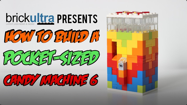 How to Build a MiNi Lego Candy Machine 6