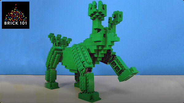 How To Build Giant LEGO Monster (Soccersaurus)