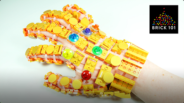 How To Build LEGO Infinity Gauntlet