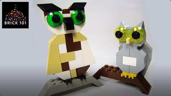 How To Build LEGO Owls