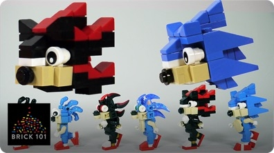 How To Build LEGO Shadow & Sonic the Hedgehog
