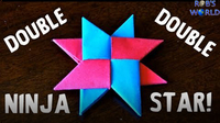 How to Make a Double Ninja Star