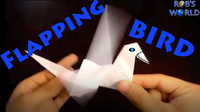 How to Make an Origami Flapping Bird