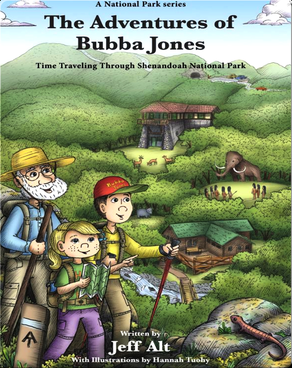 Time Traveling Through Shenandoah National Park: The Adventures of Bubba Jones #2