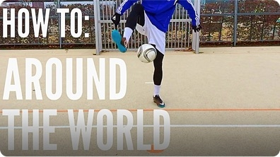 How to Do an Around the World (Soccer/Football Freestyle)