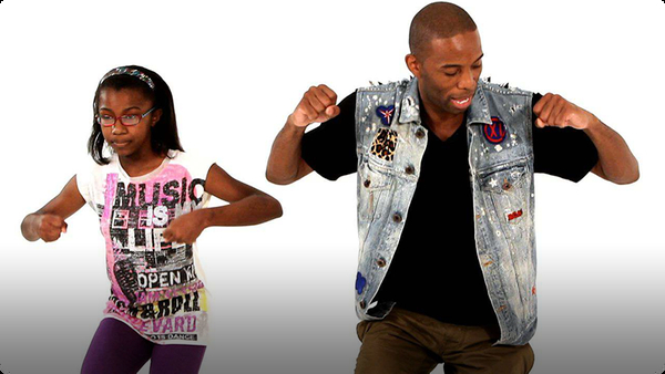 How to Do the Funky Walk Hip-Hop Dance Move for Kids