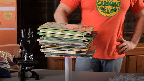 How to Do the Paper Book Tower Experiment
