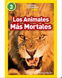 National Geographic Readers: Los Animales Mas Mortales (Deadliest Animals)