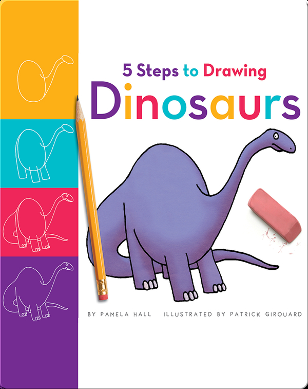 5 Steps to Drawing Dinosaurs