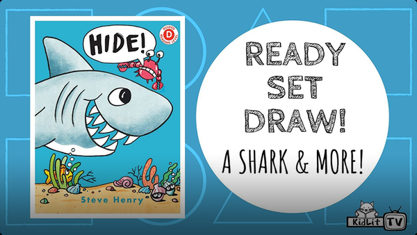 Ready Set Draw! The Shark and MORE from HIDE