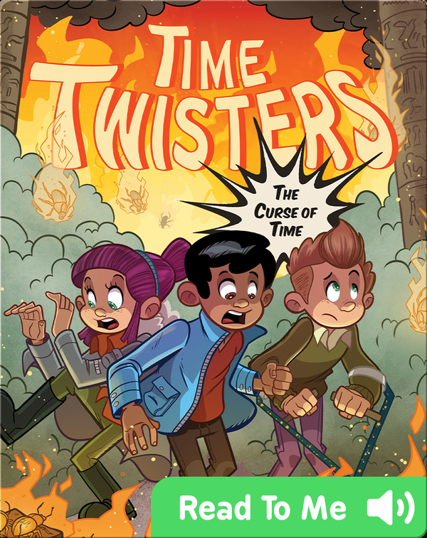 Time Twisters #3: The Curse of Time