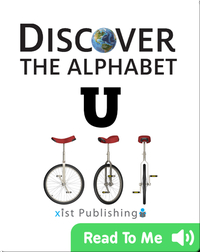 Discover The Alphabet: U