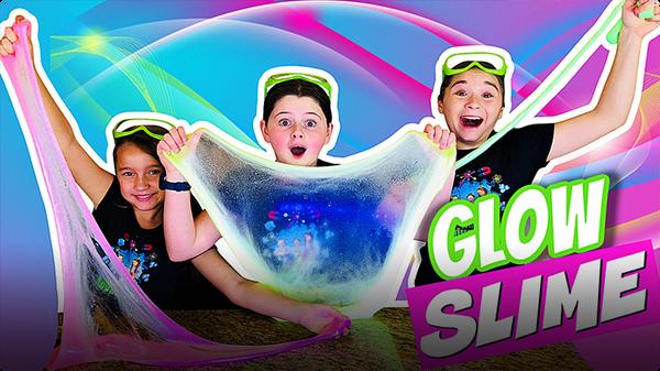 Glow in the Dark Slime!