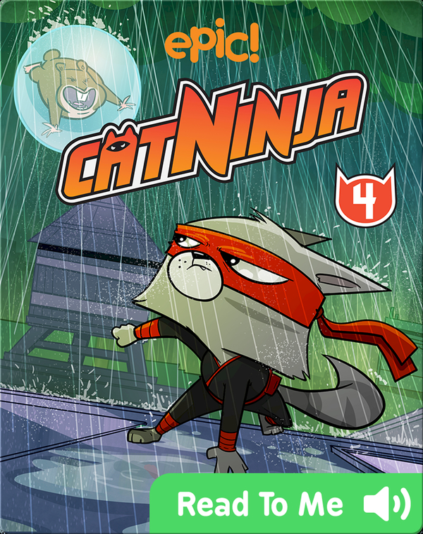 Cat Ninja Book 4: The Life and Times of the Fury Roach