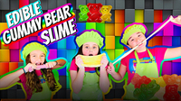Edible Gummy Bear Slime DIY