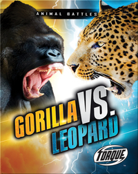 Animal Battles: Gorilla vs. Leopard
