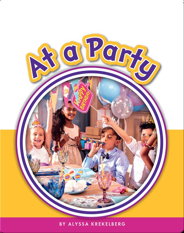 Learning Sight Words: At a Party