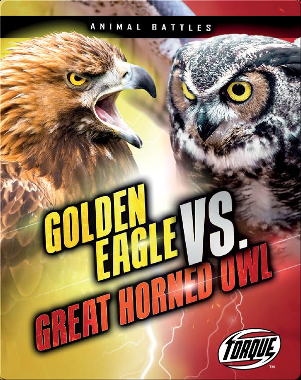 Animal Battles: Golden Eagle vs. Great Horned Owl