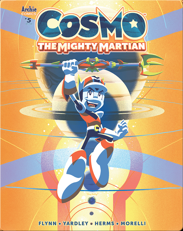 Cosmo The Mighty Martian 5: The Captain and Crew