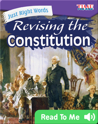 Just Right Words: Revising the Constitution