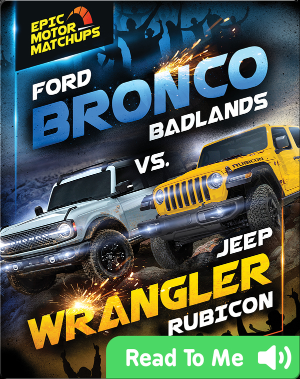 Ford Bronco Badlands vs. Jeep Wrangler Rubicon