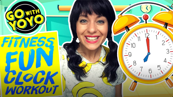GO With YOYO: Fitness Fun Clock Workout
