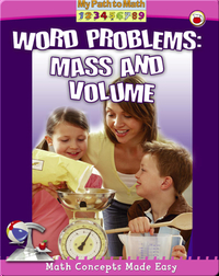 Word Problems: Mass and Volume (My Path to Math)