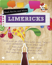 Read, Recite, and Write Limericks