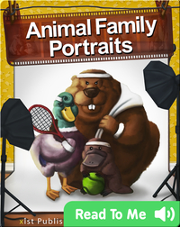 Animal Family Portraits