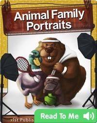 Animal Family Portraits