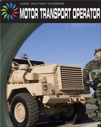 Cool Military Careers: Motor Transport Operator