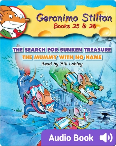 Geronimo Stilton #25 and #26