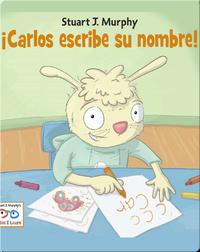 Carlos escribe su nombre