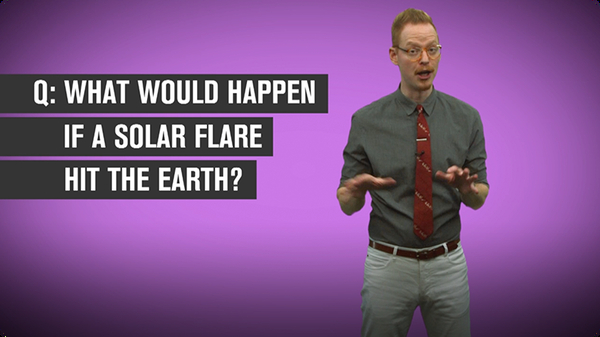 What Would Happen if a Solar Flare Hit the Earth?